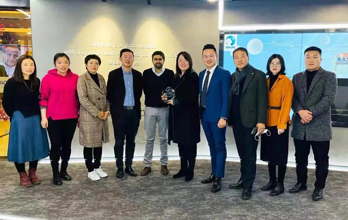 "CJ荣庆物流被授予NUTRICIA""2020最佳运输服务商"""